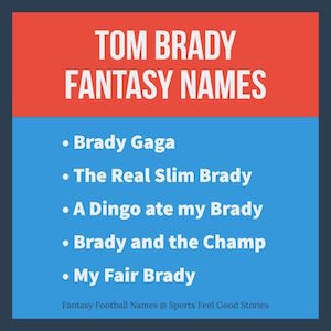 Tom Brady names image