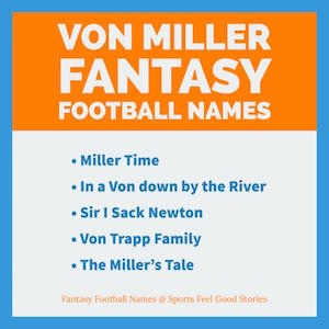 Fantasy Football Team Names 2019 Funny Good Clever The Best