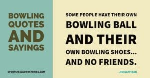 bowling quotes and sayings image