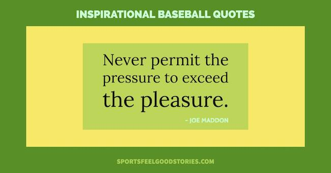 inspirational baseball quotes image
