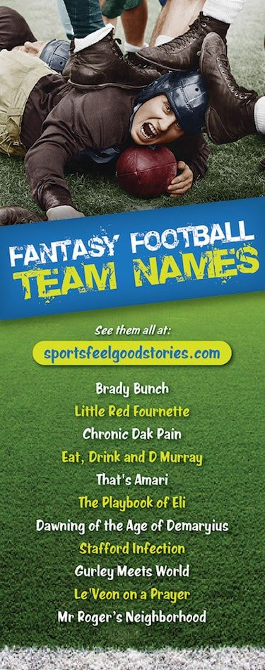 best fantasy football naming options image