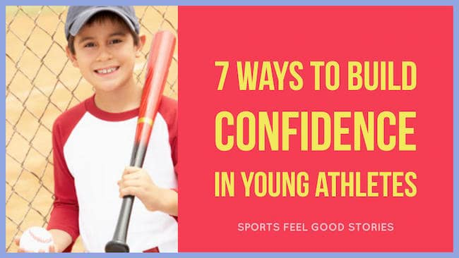 Build confidence in young athletes image