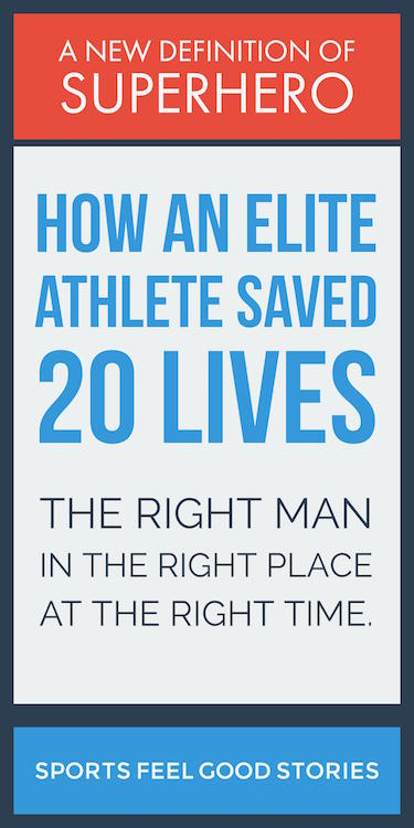 elite athlete saves 20 lives image