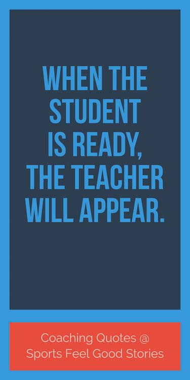 When the Student is ready quote image