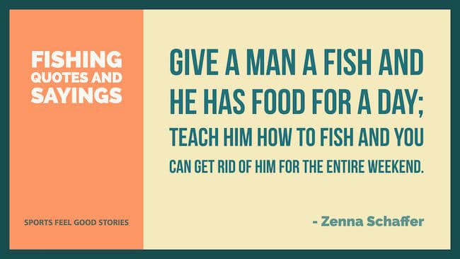 fishing quotes and sayings image
