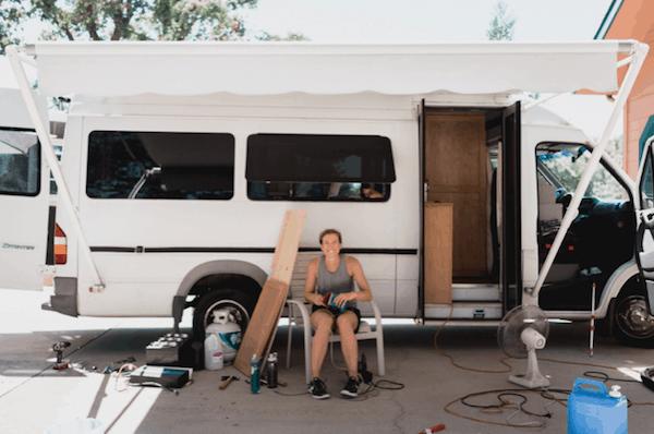 A man, a van, a plan image