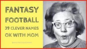 Clever Fantasy Football Names image