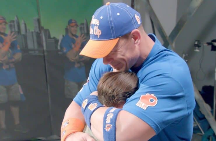 John Cena and Make-A-Wish Foundation image