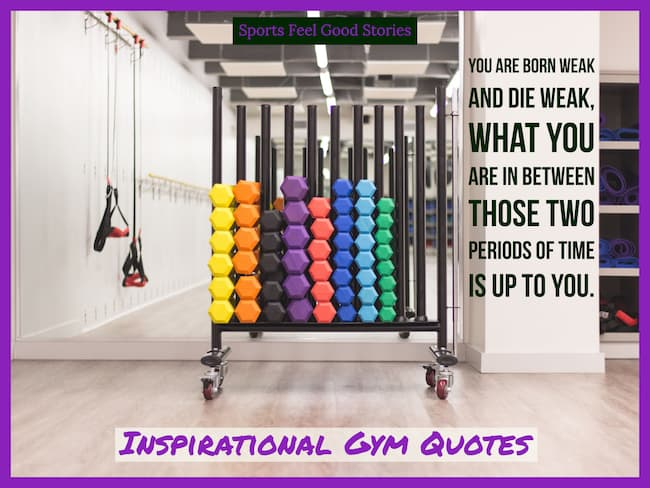 fitness sayings image