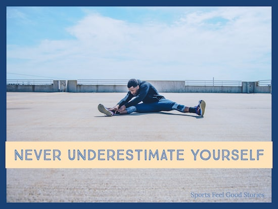 never underestimate yourself image