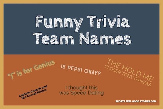 funny trivia naming ideas image