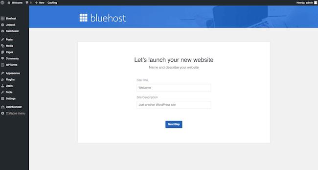 12 Website name and description screenshot