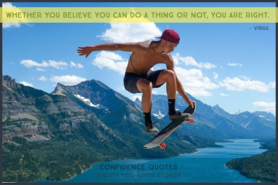 Believe quotation by Virgil image