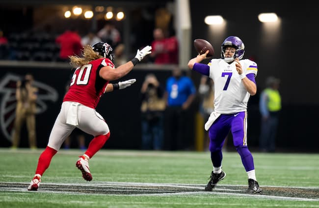 Case Keenum in action image