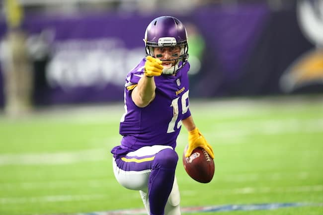 Minnesota Vikings WR Adam Thilen