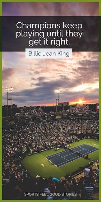 Billie Jean King Quote image