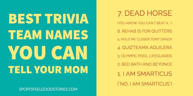 best trivia naming suggestions