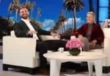 Eagle's Chris Long on Ellen Show image