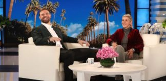 Eagle's Chris Long on Ellen Show image