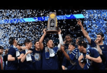 Villanova wins with coaching image