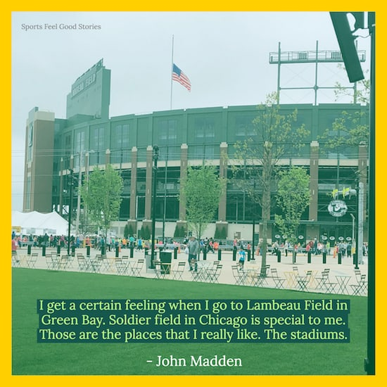 Lambeau Field quote meme