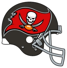 Buccaneers football helmet image