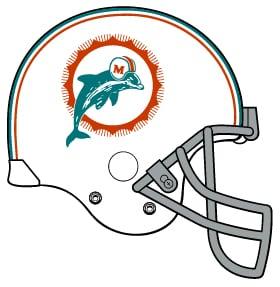Dolphins helmet logo