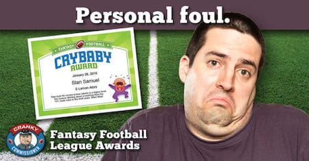 fantasy football awards image