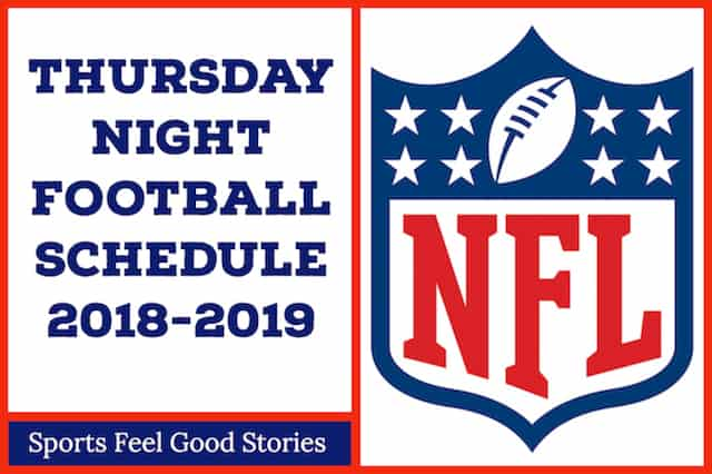 Thursday Night Football Schedule image