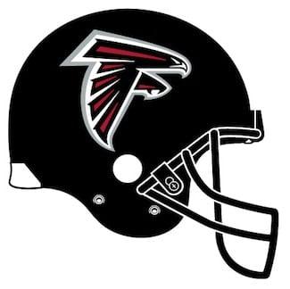 Atlanta Falcons' helmet image
