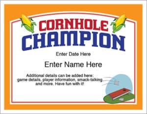 editable cornhole certificate image