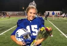 Homecoming Queen Kicks winning field goal image
