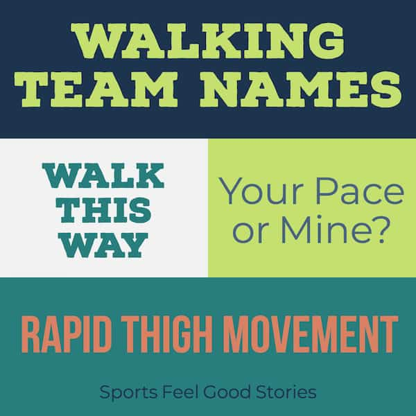 walking puns team names meme