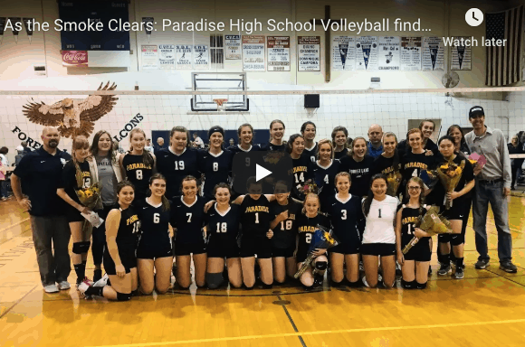 Paradise High Volleyball team image