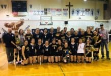 Paradise High School Volleyball team image