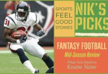 Fantasy football mid-season update image