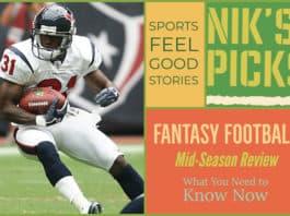Fantasy football mid-season update image