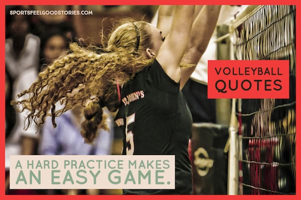 Volleyball Quotes and Sayings: Good, Famous and Funny