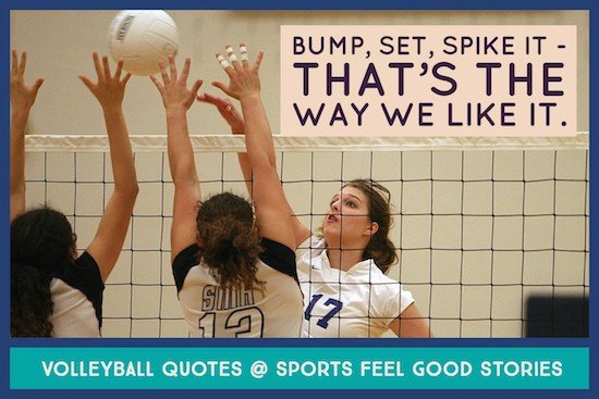 volleyball sayings meme