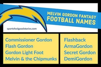 melvin gordon names image