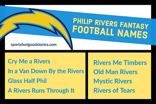 philip rivers fantasy team names image