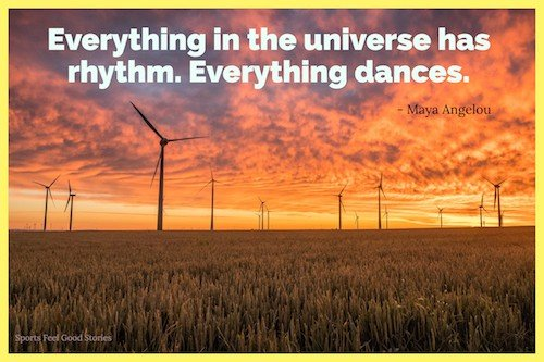 Everything in the universe has rhythm image