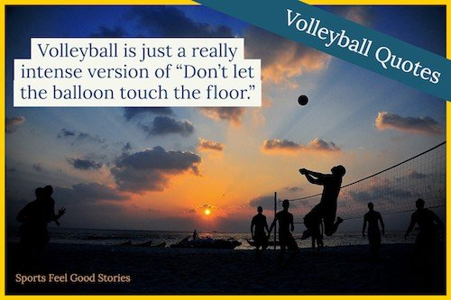 Definition of volleyball image