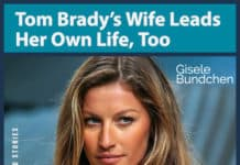 Tom Brady's wife Gisele Bundchen image