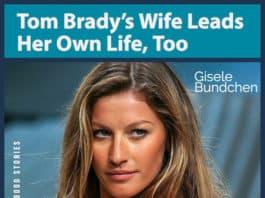Tom Brady's wife Gisele Bundchen image
