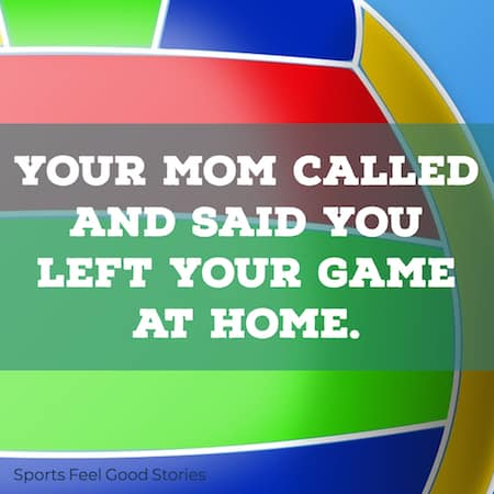 Your mom called quotation