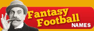 fantasy football team names button