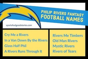 Philip Rivers Fantasy football names image