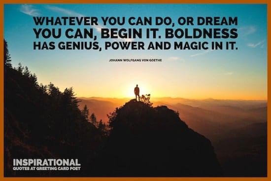 Von Goethe quote image