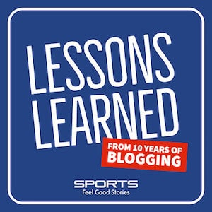 Blog learnings  - how to start a sports blog